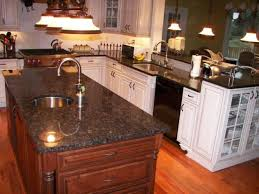 what color countertops go with brown cabinets relished rubiginous brown granite countertop