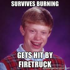 Bad News Brian Meme - chuck s fun page 2 bad luck brian the meme