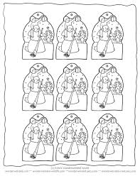 printable tree ornaments coloring home