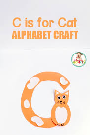 c is for cat letter craft