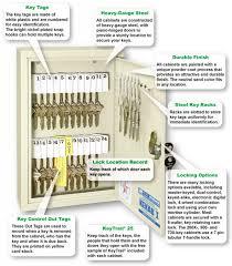 500 key capacity single tag kekab key cabinet