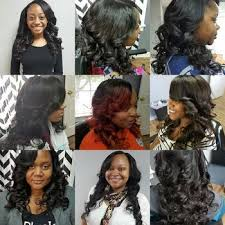 full sew in weave with no hair out nicky virgin hair company weave styles by nicky