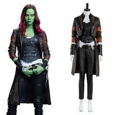 gamora costume guardians of the galaxy 2 gamora costume set