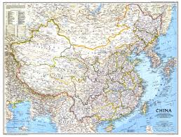China Map Cities by 1991 China Map Side 1 Historical Maps