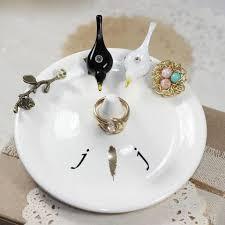 wedding ring holder blended family birds nest monogrammed wedding ring holder elise