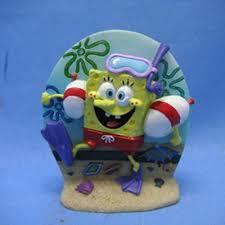 spongebob diver air ornament aquar ornaments at arcata pet supplies