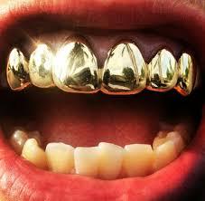 diamond stud on tooth 8 teeth 10k gold cut grillz