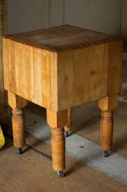 butcher block table on wheels antique butcher block i really need wheels on mine and i need