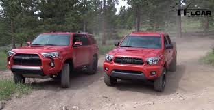 2014 toyota tacoma road suv vs truck toyota 4runner vs toyota tacoma review