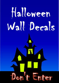 halloween bat wall decals funk u0027n seasonal with halloween wall decals for spooky goofy fun