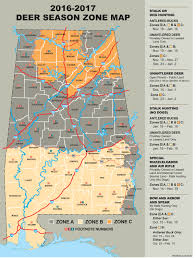 Is Time Zone Map by When Is The Best Time For Hunters To Harvest Does In Alabama