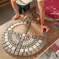 Diy Patio Table Top Mosaic Patio Table Top