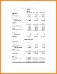 Pro Forma Financial Statements Excel Template 5 Pro Forma Financial Statements Template Farmer Resume