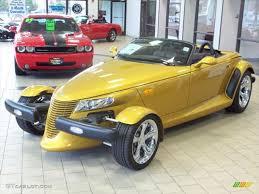 chrysler prowler 2002 inca gold pearl chrysler prowler roadster 48663982