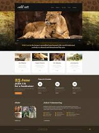 wild life responsive website template 45961