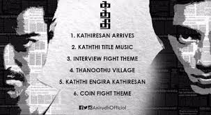 theme music of kathi bgm of vijay s kaththi tamil movie news times of india