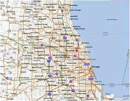 chicago map printable midwest suburban league chicago