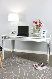 White Desk With Glass Top by Decorating A Modern House With A White Modern Desk For Whimsical