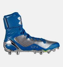light blue under armour cleats men s ua c1n mc football cleats under armour us