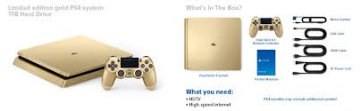 amazon com playstation 4 slim 1tb gold console discontinued