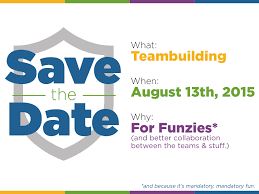 Save The Date Emails Save The Date Card For Teambuilding Event By Jess Zak Dribbble