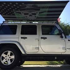 Jeep Wrangler Awning Sir Shade Telescoping Awning System Jk 4 Door For Gobi Rack U2013 Sir