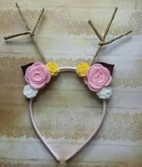 fawn headband antler headband deer antler headband fawn headband deer