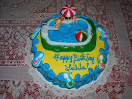 Pool Party Decoration Ideas Pool Party Cakes U2013 Decoration Ideas Little Birthday Cakes