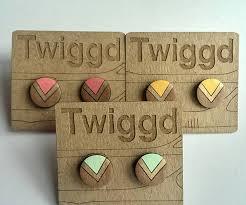 wood stud earrings wood stud earrings zeige earrings