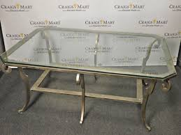 25 Ideas Of Ethan Allen Glass Coffee Table