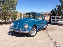 volkswagen sedan interior 1966 volkswagen vw bug beetle sea blue sedan new interior barn find