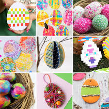 kids easter eggs the most easy and entertaining egg crafts for kids