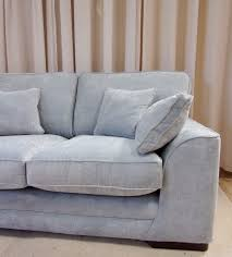 Portland  Seater Sofa Sherlock Pale Blue - Leather sofa portland 2