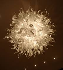Glass Blown Chandelier Blown Away By This Blown Glass Chandelier Lighting