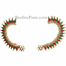 ear cuffs online traditional multi colour ear cuffs online hayagi