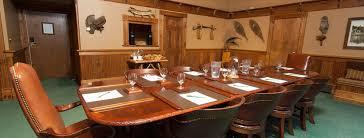 executive dining room executive board room luxury lake placid resort hotel mirror