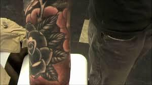 grey wash sleeve tattoo youtube