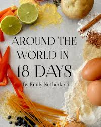 emily cuisine pour vous around the in 18 days de emily netherland livres blurb