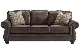 breville sofa with nailhead trim at gardner white