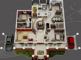 pretentious design house plans in dubai 6 3d floor plan home act