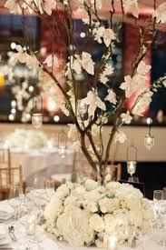 Tree Branch Centerpiece by Whimsical White Manzanita Branch Centerpiece Table 6 Productions