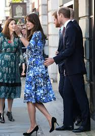 kate middleton joins princes william and harry at bafta for shaun