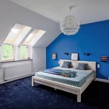Schlafzimmer In Blau Braun Gemütliche Innenarchitektur Gemütliches Zuhause Schlafzimmer