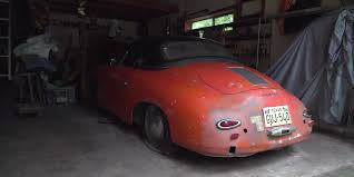 porsche speedster kit car how a 250 000 porsche 356 speedster ended up stored in a texas