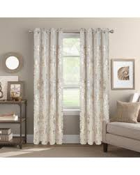 95 Inch Curtain Panels Savings On Colordrift Wildflower 95 Inch Grommet Top Window