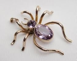 amethyst necklace images Edwardian amethyst spider pendant circa 1910 amethyst spider jpg