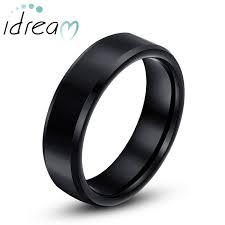 mens black tungsten wedding bands black tungsten wedding bands personalized tungsten carbide