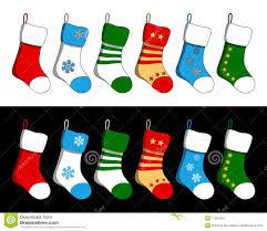christmas stockings set royalty free stock photography image