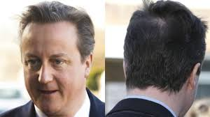 hairstyles for hiding a bald spot the prime minister s priority for 2014 hiding his bald spot itv
