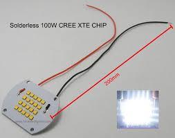 Cree 100 Watt Led Light Bulb by 100w Diy Led Flood Light 100w Led High Bay Light With Meanwell